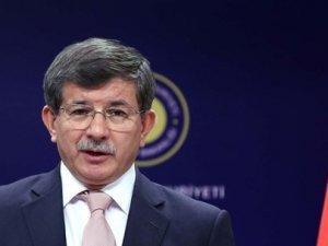 """Davutoğlu'ndan """"barış"""" açıklaması"""