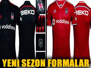 İşte Beşiktaş'ın 2014-15 sezonu formaları