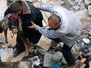 Gazze'de ölenlerin sayısı 311'e çıktı