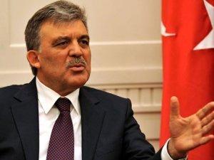 Abdullah Gül'den şok açıklama