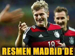 Kroos resmen Madrid'de!