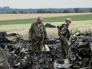 Rusya Ukrayna uçağını düşürdü!