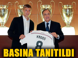 Kroos artık Madrid'de!