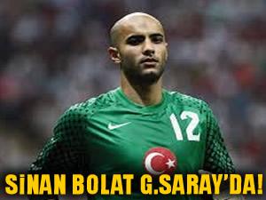 Sinan Bolat Galatasaray'da