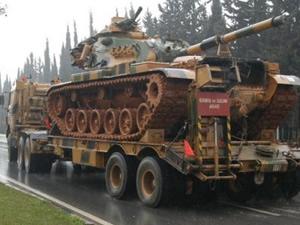 Suriye sınıra askeri sevkiyat