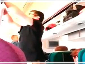 Düşürülen uçaktan görüntüler
