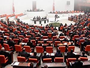 Meclis'te 4 partinin ortak İsrail bildirisi okundu