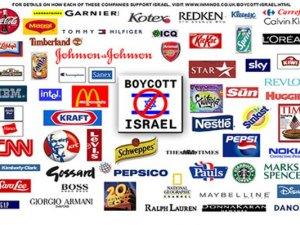 İsrail markalı ürünlere boykot !