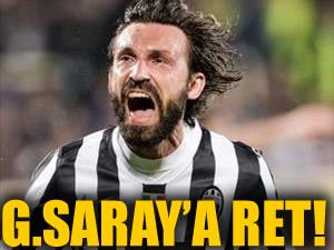Juventus'tan Galatasaray'a ret