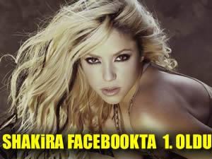 Shakira ilke imza attı