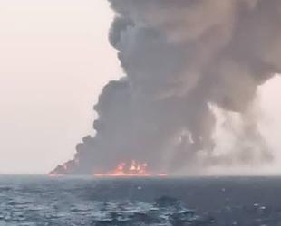 İran'ın en büyük donanma gemisi Kharg, Basra Körfezi'nde battı
