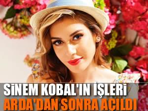 Sinem Kobal'ın işleri açıldı