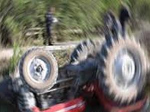 Çorum'da traktör devrildi: 1 ölü, 2 yaralı