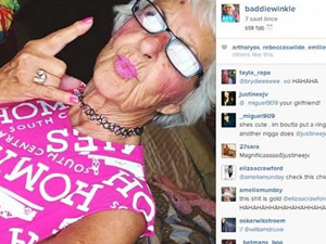 86 yaşında Instagram fenomeni oldu