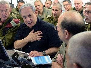 Netanyahu karargahı ziyaret etti