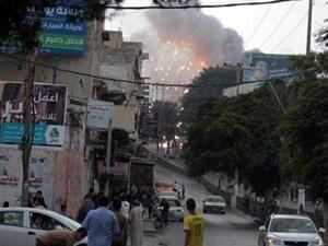 İsrail bu kez de hastaneyi bombaladı
