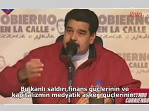 Venezuela Devlet Başkanı Arap dünyasına seslendi