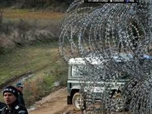 Bulgaristan-Türkiye sınırına çit çekildi