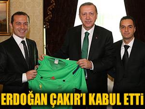 Başbakan, Çakır'ı kabul etti