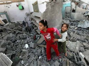Gazzelilere ateşkes sonrası 'eve dönmeyin' mesajı