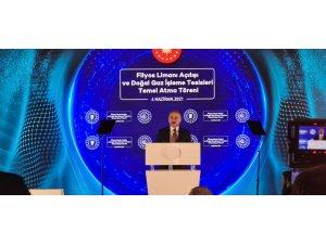 Ulaştırma ve Altyapı Bakanı Karaismailoğlu Filyos Limanı açılışında konuştu