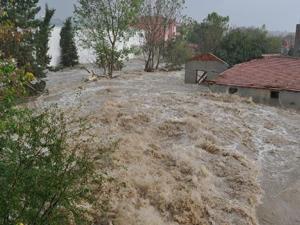Erzincan'daki sel