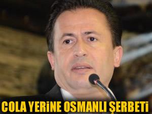 Tuzla Belediyesi'nden Cola yerine Osmanlı şerbeti!