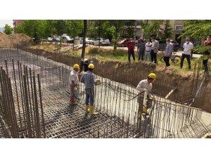 Isparta'da Fatih Mahallesi Gençlik Merkezi'nin temeli atıldı