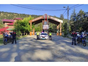 Kahramanmaraş'ta drone destekli trafik denetimi: 6 sürücüye 4 bin 98 lira para cezası