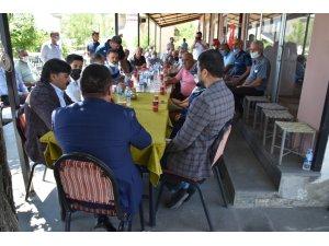 Kulp'taki  kırsal mahallenin sorunlarını Bağlar Belediyesi çözdü