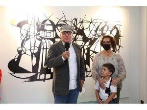 """""""Dededen Toruna"""" resim sergisi Dokumapark'ta açıldı"""