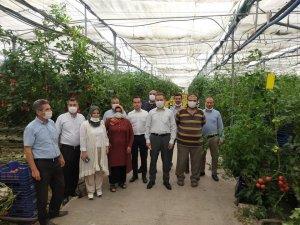Adana'da çiftçiler tecrübelerini paylaşıyor
