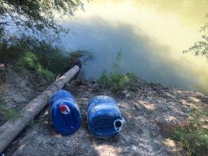 Asi Nehri'nde varille uyuşturucu sevkiyatı