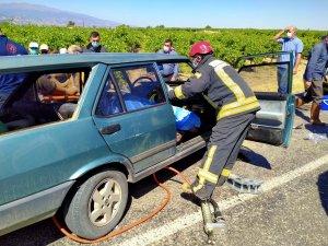 Manisa'daki kazada ölü sayısı 2'ye yükseldi