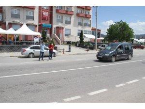 Polisten sivil kıyafetli trafik denetimi