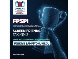 TDV 29 Mayıs Okulları, Gelecek Problemleri Çözme Yarışmasında Türkiye'yi temsil edecek