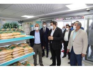 Fakıbaba, Haliliye Belediyesi Sosyal Yardım Kompleksini gezdi