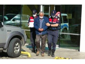 Tereyağ ve bisküvi kutusu içinde 12 tabanca ele geçti: 1 kişi tutuklandı