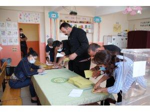 Varto'da oy kullanma işlemi tamamlandı