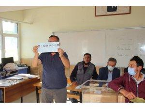 Seçim yapılan Güney beldesinde belediye başkanlığını AK Parti kazandı