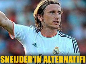 Sneijder'in alternatifi Modric