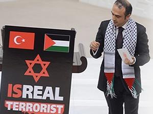 TBMM'de İsrail protestosu