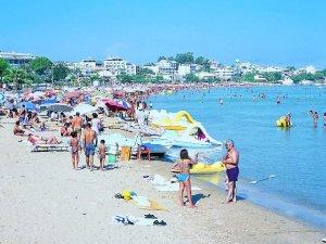 Günübirlik tatilciler plajları doldurdu