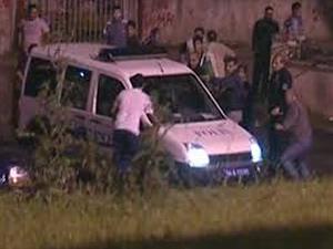 Iğdır'da polis ekiplerine taşlı, sopalı saldırı