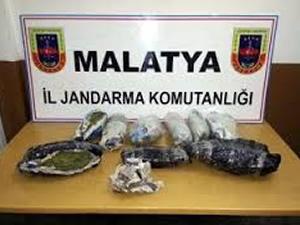 Malatya'da uyuşturucu ve kaçakçılıkla mücadele