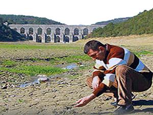 İstanbul'da su seviyesi yüzde 20'nin altında