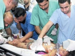 Gazze'de doktorsuzluktan el ayak kesiliyor