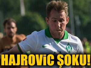 Hajrovic sahaya çıktı