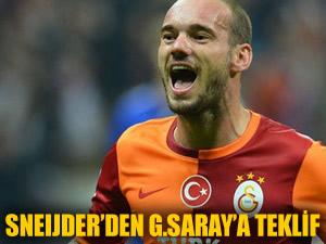Sneijder'den G.Saray'a sürpriz teklif!