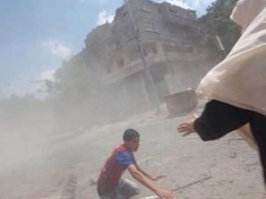 Filistinli annenin yürek yakan feryadı